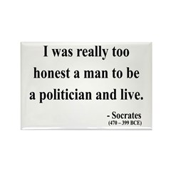 Socrates 11 Rectangle Magnet (10 pack)