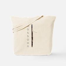 Bassoon Bassoonist Tote Bag