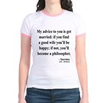 Socrates 14 Jr. Ringer T-Shirt