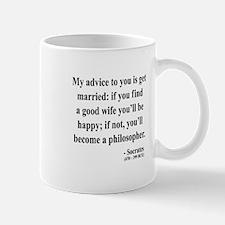 Socrates 14 Small Small Mug
