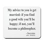 Socrates 14 Mousepad