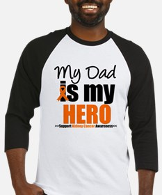 KidneyCancerHero Dad Baseball Jersey