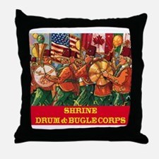 Drum & Bugle Corps Throw Pillow