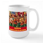 Drum & Bugle Corps Large Mug