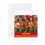 Drum & Bugle Corps Greeting Card