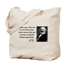 Karl Marx 4 Tote Bag