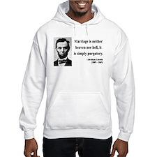 Abraham Lincoln 34 Hoodie