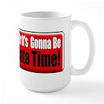 Pinata Time Large Mug