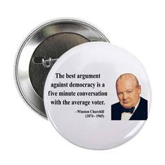 "Winston Churchill 2 2.25"" Button (10 pack)"