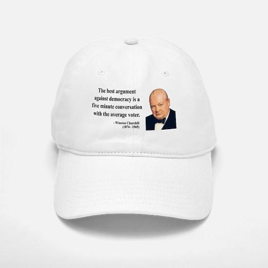 Winston Churchill 2 Baseball Baseball Cap