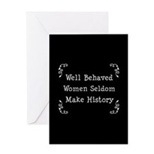 Well Behaved Greeting Card