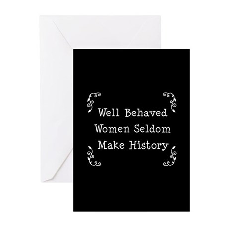 Well Behaved Greeting Cards (Pk of 10)