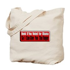 Honk if you Voted for Obama Tote Bag