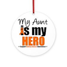KidneyCancerHero Aunt Ornament (Round)