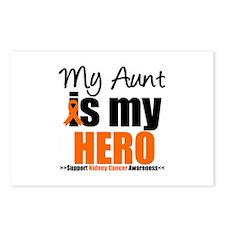 KidneyCancerHero Aunt Postcards (Package of 8)
