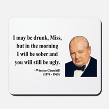 Winston Churchill 13 Mousepad