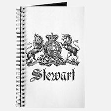Stewart Vintage Crest Family Name Journal