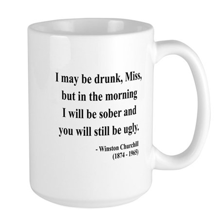 Winston Churchill 13 Large Mug