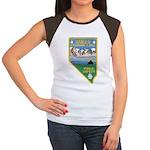 Pyramid Lake Women's Cap Sleeve T-Shirt