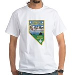 Pyramid Lake White T-Shirt