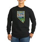 Pyramid Lake Long Sleeve Dark T-Shirt