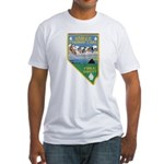 Pyramid Lake Fitted T-Shirt