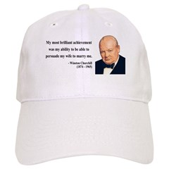 Winston Churchill 15 Baseball Cap