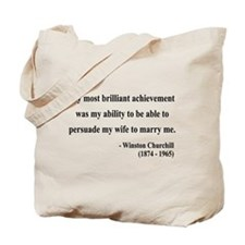 Winston Churchill 15 Tote Bag