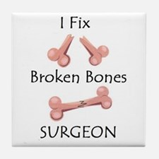 Broken Bones MD Tile Coaster