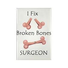 Broken Bones MD Rectangle Magnet
