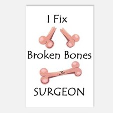 Broken Bones MD Postcards (Package of 8)