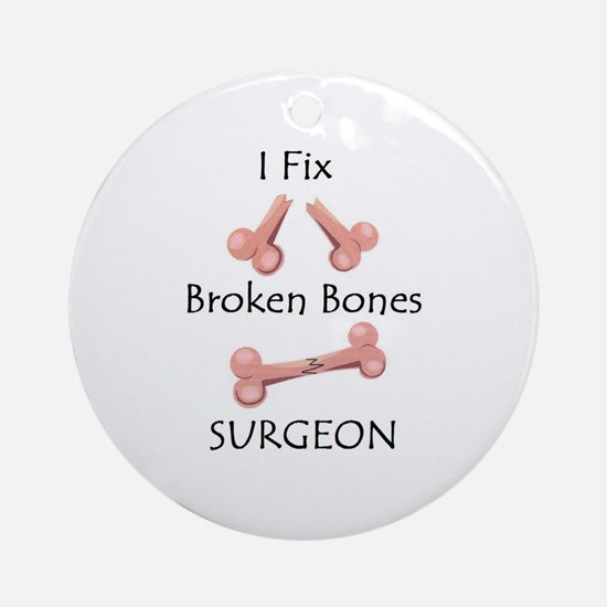 Broken Bones MD Ornament (Round)