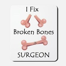 Broken Bones MD Mousepad