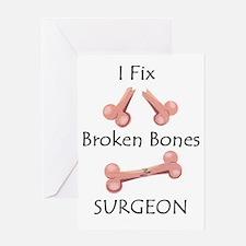 Broken Bones MD Greeting Card