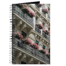 Paris Flowers Journal