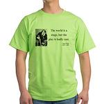 Oscar Wilde 5 Green T-Shirt