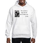 Oscar Wilde 5 Hooded Sweatshirt
