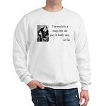 Oscar Wilde 5 Sweatshirt