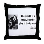 Oscar Wilde 5 Throw Pillow