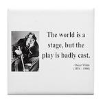 Oscar Wilde 5 Tile Coaster