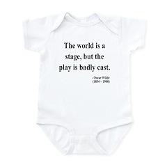 Oscar Wilde 5 Infant Bodysuit