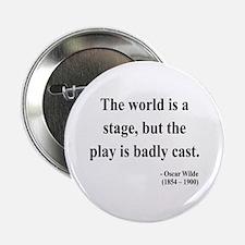 """Oscar Wilde 5 2.25"""" Button (100 pack)"""