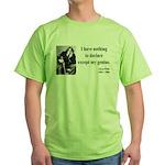 Oscar Wilde 14 Green T-Shirt