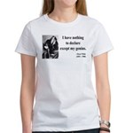 Oscar Wilde 14 Women's T-Shirt
