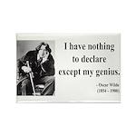 Oscar Wilde 14 Rectangle Magnet