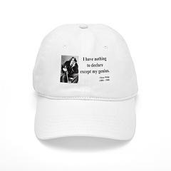 Oscar Wilde 14 Baseball Cap