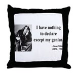 Oscar Wilde 14 Throw Pillow