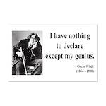 Oscar Wilde 14 Mini Poster Print