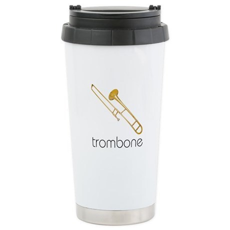 Trombone Stainless Steel Travel Mug