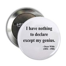 "Oscar Wilde 14 2.25"" Button"